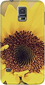 DailyObjects Sunflower Close Up Case For Samsung Galaxy S5