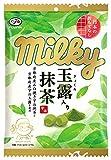 不二家 ミルキー(玉露入り抹茶) 85g(コソウシコミ)×6個