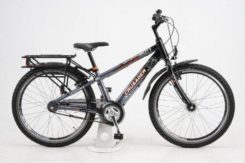 Puky Bicyclette / Vélo - Crusader 24-3 alu : Gris / Noir