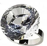 [ベアーフルート]bear-fruit 巨大 結婚 指輪 ウェディング リング (80号)