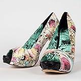 Iron Fist - Here I Lie - Women's Platform High Heel Shoes