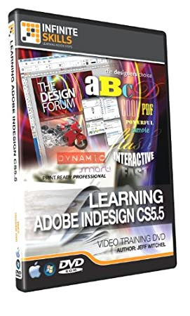 Adobe InDesign CS5.5 Training DVD - 11 Hours of Training