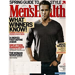 Health Ryan Reynolds on Ryan Reynolds Mens Health Magazine March 2009 14 Moves That Define A