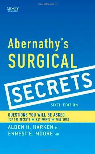 Abernathy's Surgical Secrets, Sixth Edition