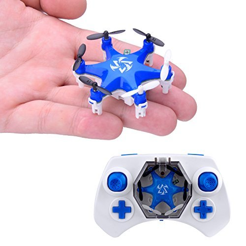 Mokasi-6-Propellers-Mini-Pocket-Drone-24Ghz-4CH-6-Axis-Gyro-RC-Micro-Quadcopter-with-3D-Flip-Headless-ModeNano-Copters-RTF-Mode-2-Blue