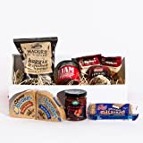 Scottish Burns Night Haggis Hamper. WITH FREE MINIATURE WHISKY AND 5 FREE BONUS PRODUCTS - Fine Scottish food hamper. Christmas, Birthday, Anniversary, Engagement, Easter, Mother's day, Father's day, Valentine's day, Wedding or Christmas gift idea