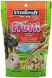 Vitakraft Rabbit Happy Frutti Treat, 6.0 Ounce Pouch