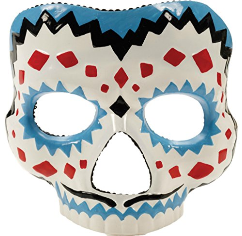 Day Of The Dead Male Skeleton Gothic Latex Adult Halloween Costume Mask