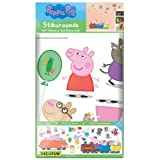 Decofun, Peppa Pig Wall Sticker Stikaroundsby Fine Decor Wallcoverings