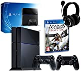 Sony PS4 Console with Assassin's Creed IV, GP3 Headset & DualShock 4 Controller (PS4)