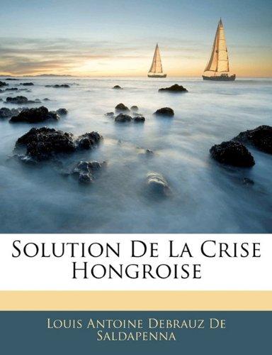 Solution De La Crise Hongroise