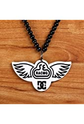 Hip-hop Fashion Good Wood Diamond Shape Fashion Jewelry Black White Racmg