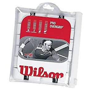 Wilson Pro Overgrip Tennis Racquet Grip (12 Pack)
