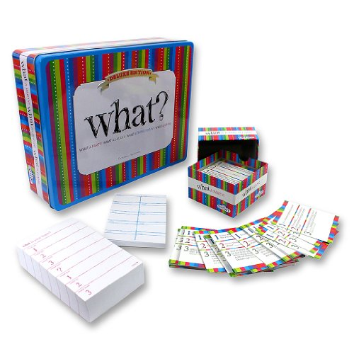 Party Game - What? Deluxe Edition - The Ultimate Laugh Out Loud Board Game (What Board Game compare prices)