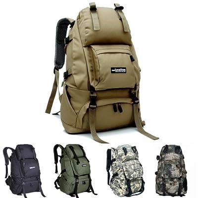 KingMas Outdoor 40L Waterproof Backpack Bag Camping Hiking Travel Bag Day Packs