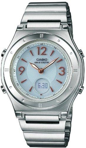 [カシオ]CASIO 腕時計 WAVE CEPTOR ウェーブセプター タフソーラー 電波時計  MULTIBAND 6 LWA-M141D-7AJF レディース