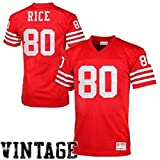 San Francisco 49ers Men's Mitchell & Ness #80 Jerry Rice 1990 Replica Jersey (X-Large)