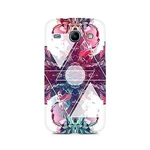 Ebby Dream Triangles Premium Printed Case For Samsung Core I8262