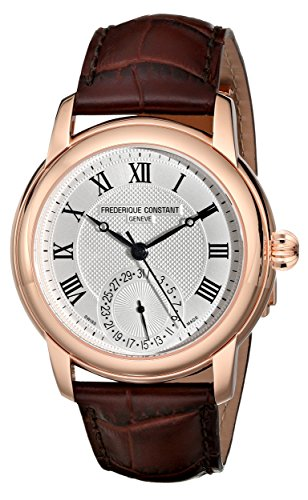 Frederique Constant Men's FC-710MC4H4 Maxime Dark Brown Leather Strap Watch image
