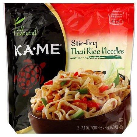 Ka-Me Stir-Fry Thai Rice Noodles 14.2 oz (Pack of 6) WLM (Kame Thai Rice Stir Fry Noodles compare prices)