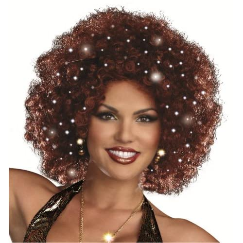 Light-Up Disco Afro Wig
