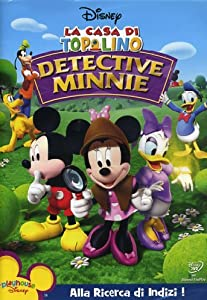 la casa di topolino detective minnie