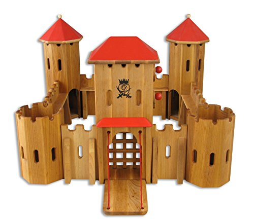 931-240 Ritterburg aus Holz