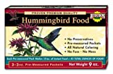 Lawn & Patio - Audubon Hummingbird Food 3-Ounce Packet, 3-Pack