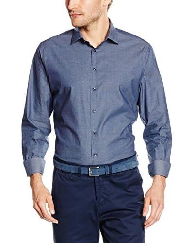 Seidensticker Camicia Formale Blu 42 cm (16.5)