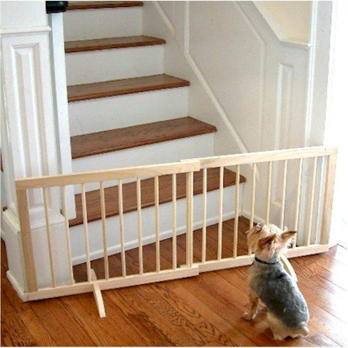 Step Over Pet Gate - White front-929891