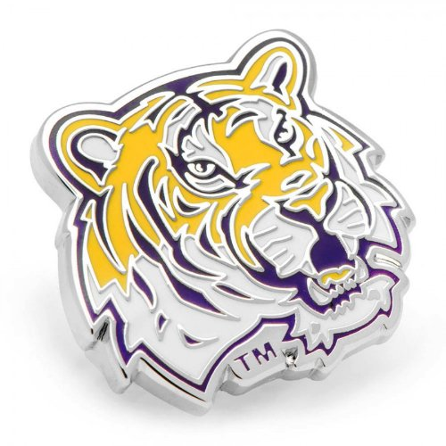 NCAA Silver Plated Lapel Pin NCAA Team: LSU at Amazon.com