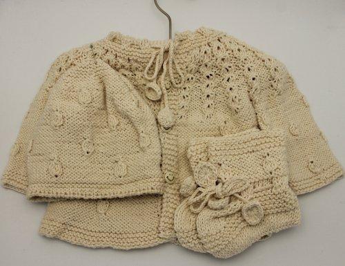 d8b5aea34ba4 baby shower sign in book  Handmade Pure Cotton Newborn Baby Sweater ...