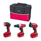 Durabuilt™ 18V Rechargeable 3-pc. Tool Kit
