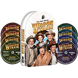 Wagon Train - The Eighth and Final Season - Embossed Collectible Tin