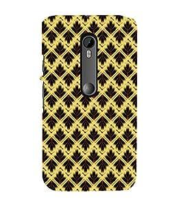 EPICCASE golden grass Mobile Back Case Cover For Moto X Force (Designer Case)