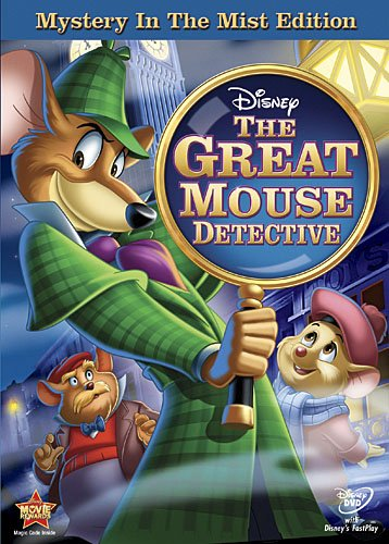 Cover art for  The Great Mouse Detective (Mystery in the Mist Edition)