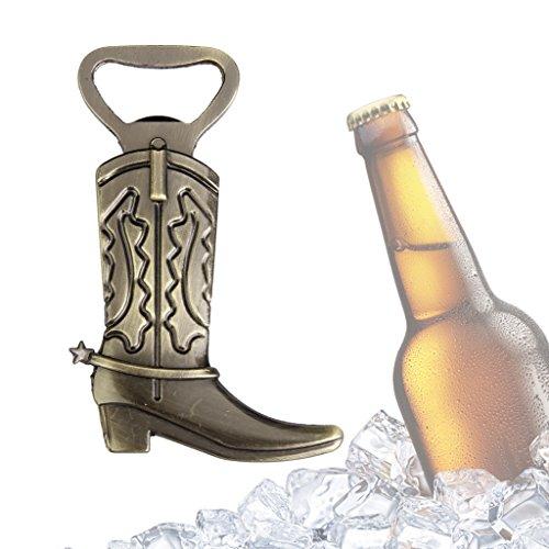 Boot Form Wein Bier Flaschenöffner Cap Wedding Favor Geschenk Bronze