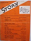 img - for Story: The Magazine of the Short Story January-February 1939 A Love Story Issue (Two Lovers by Sherwood Anderson). book / textbook / text book