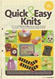 Unknown Quick & Easy Knits Textured Blanket PART 3, Baby's Bootees, Boy's Socks, Dainty Scarf, Chocolate Egg Cosy, Hen's Eggs, Decorative Easter Eggs, Retro Sign 12 Knitting Pattern (Simply Knitting Magazine Pull Out Pattern)