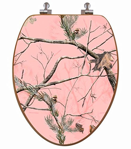 best pink camo toilet seat for the pink camo bathroom