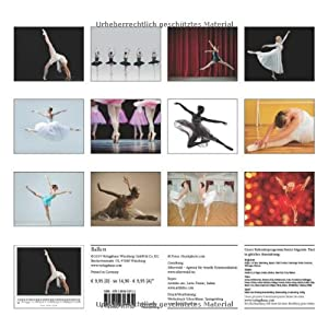 Ballett 2015 - Original Stürtz-Kalender - Mittelformat-Kalender 33 x 31 cm