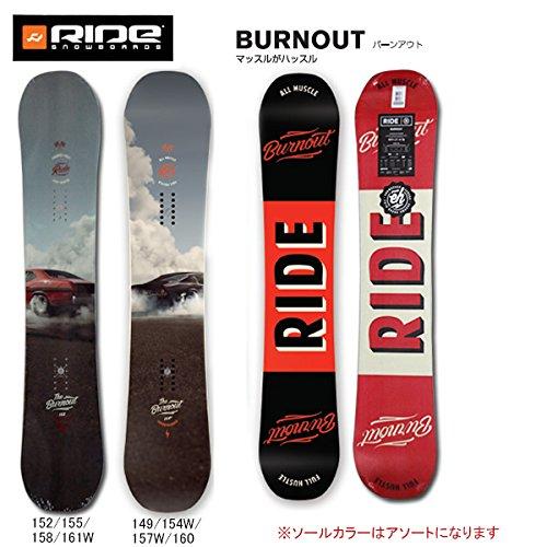 (ライド)RIDE 16年モデル ride-1605 スノーボード BURNOUT バーンアウト/ 日本正規品 152