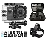 """dOvOb SJ7000 Wifi Sport Action Video Camera Full HD 1080p 14MP 170 Degree Wide Angle Lens 2.0""""LCD Display Waterproof Camcorder for Skiing Diving Cycling"""