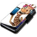 Book Style Flip Handy Tasche Case Schutz Hülle Schale Motiv Etui für Sony Xperia Z1 Compact - A40 Design8