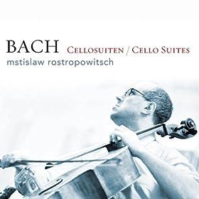 Bach: Sechs Suiten f�r Violoncello Solo BWV 1007-1012