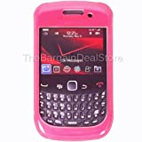 Blackberry Curve 9300 9330 8530 Double Cover Case Pink OEM