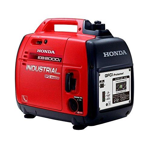 Honda 2,000 Watt Quiet GFCI Portable Gas Powered Backup Home Generator - EB2000i (Honda Gas Generator compare prices)
