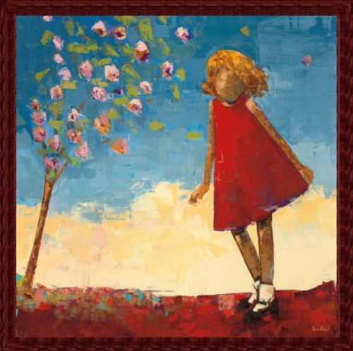 Barewalls Wall Decor by Rebecca Kinkead, Stella in the Wind April
