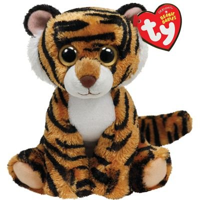 Ty Beanie Baby Stripers Plush - Tiger - 1