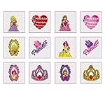 Princess Temporary Tattoos Pack of 24...